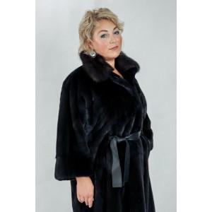 Пальто из меха норки Blackglama