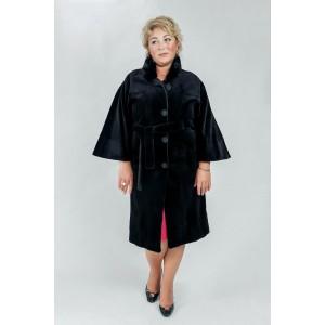 Пальто из меха норки Blackglama стриженной